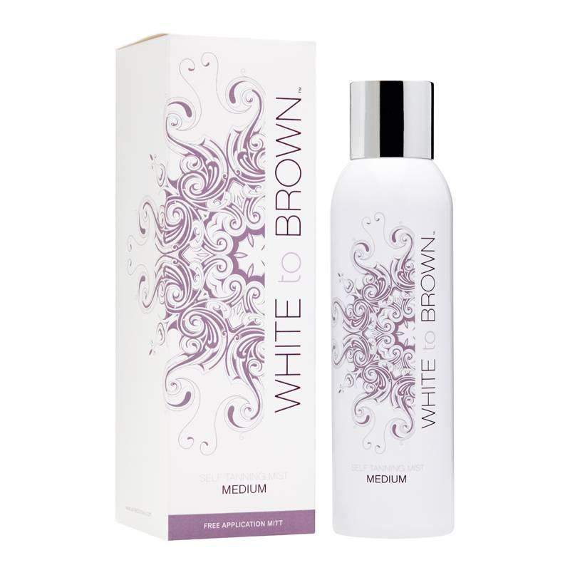 Whitetobrown Whitetobrown Self Tanning Mist + Tanning Glove - 200ml