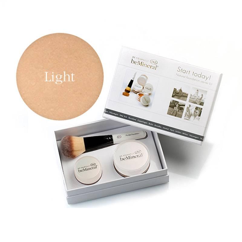 beMineral beMineral Foundation Kit - Light