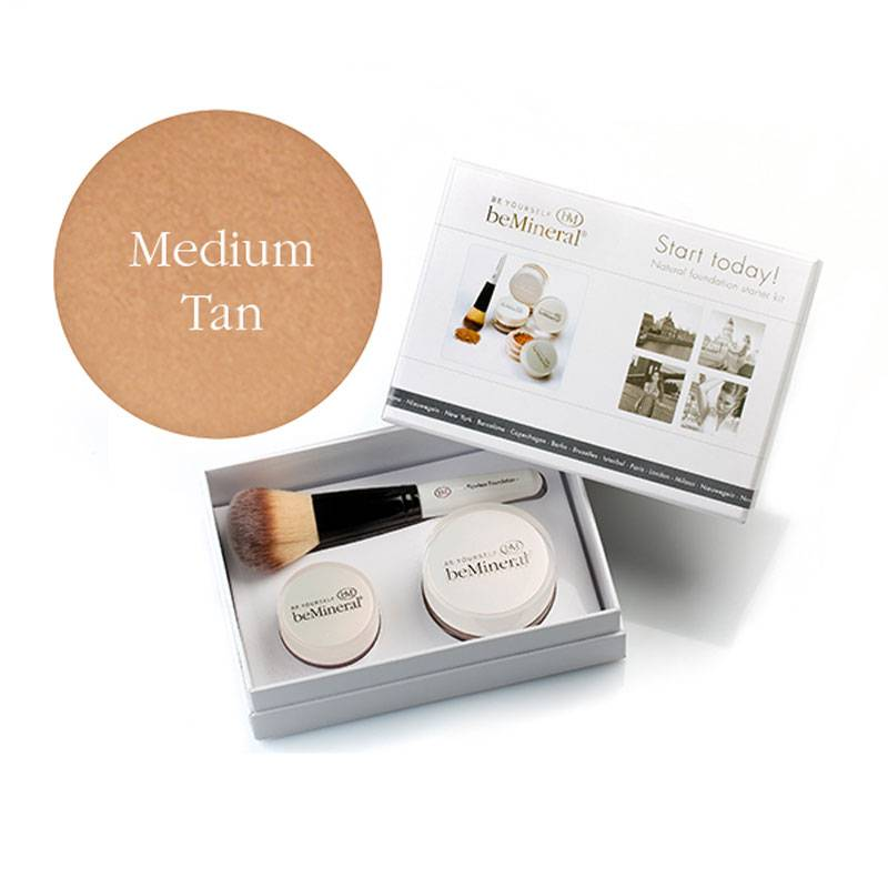Image of beMineral Foundation Kit - Medium Tan