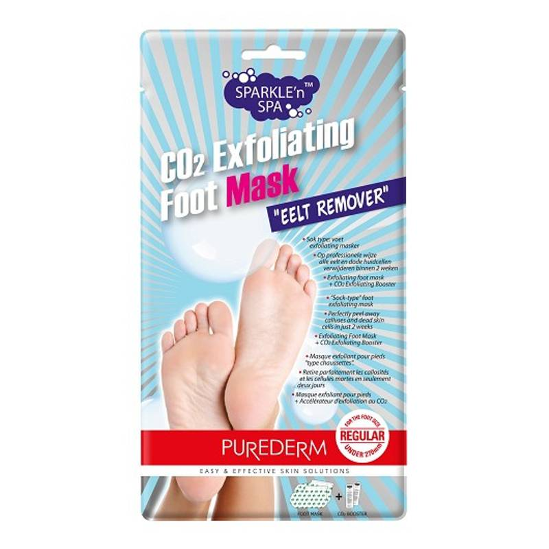 Image of PureDerm Foot Mask Eelt Remover