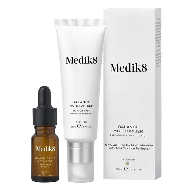 Image of Medik8 Balance Moisturiser&Glycolic Acid Activator