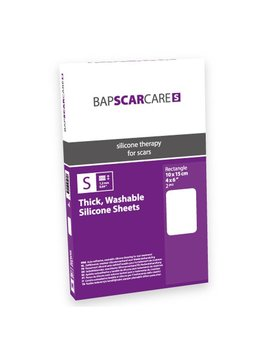 Bapscarcare BAPSCARCARE S Littekenverband - 10x15cm