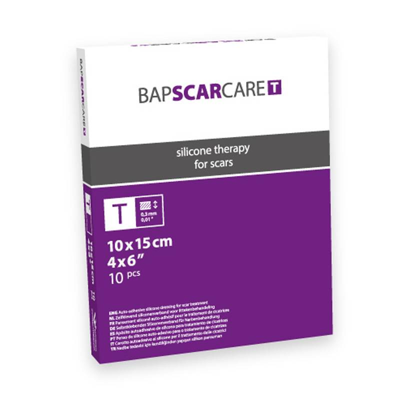 BAPSCARCARE BAPSCARCARE T Littekenverband - 10x15cm