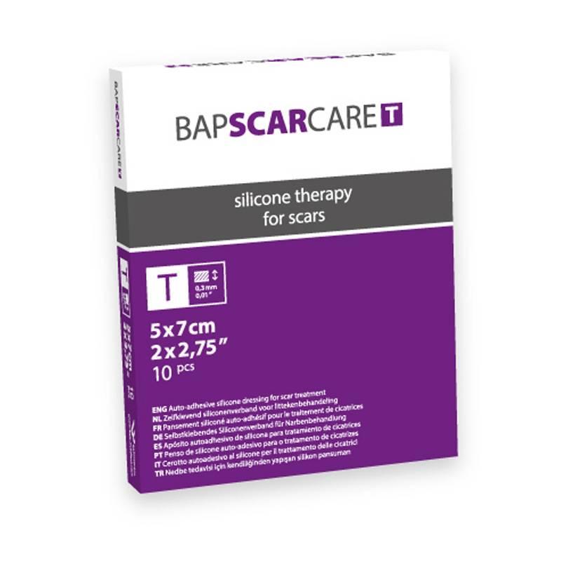 Image of BAPSCARCARE T Littekenverband - 5x7cm