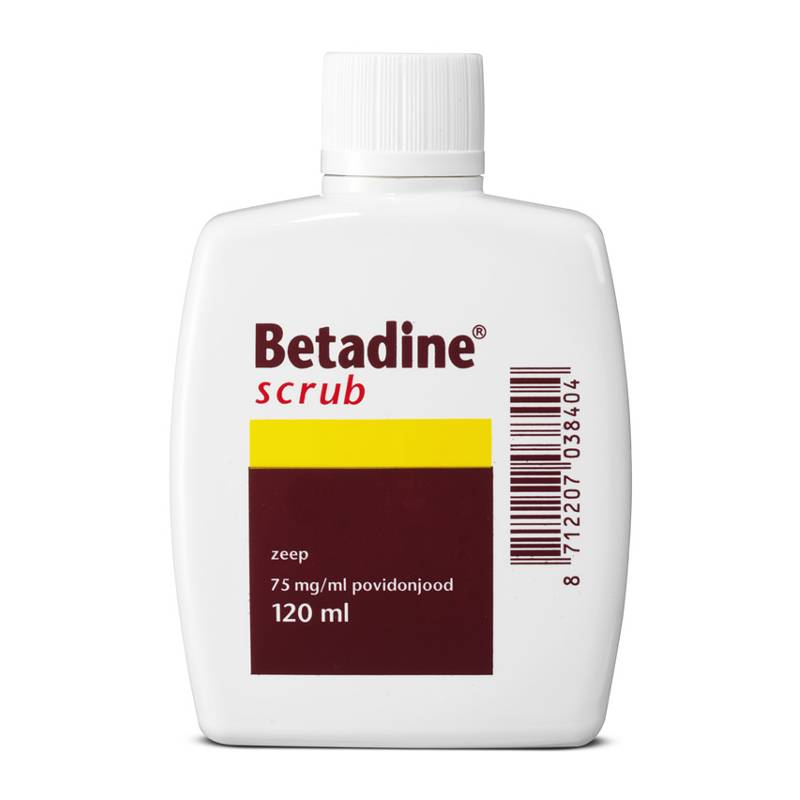 Betadine Betadine Scrub Zeepoplossing - 120ml