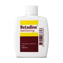 Betadine Betadine Oplossing - 120ml