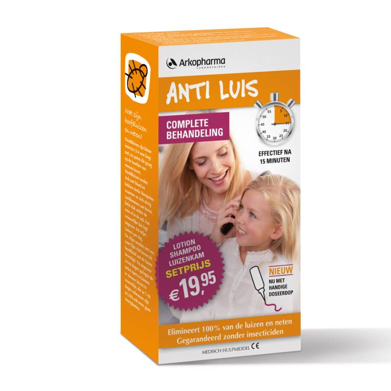 Arkopharma Arkopharma Anti Luis Complete Behandeling