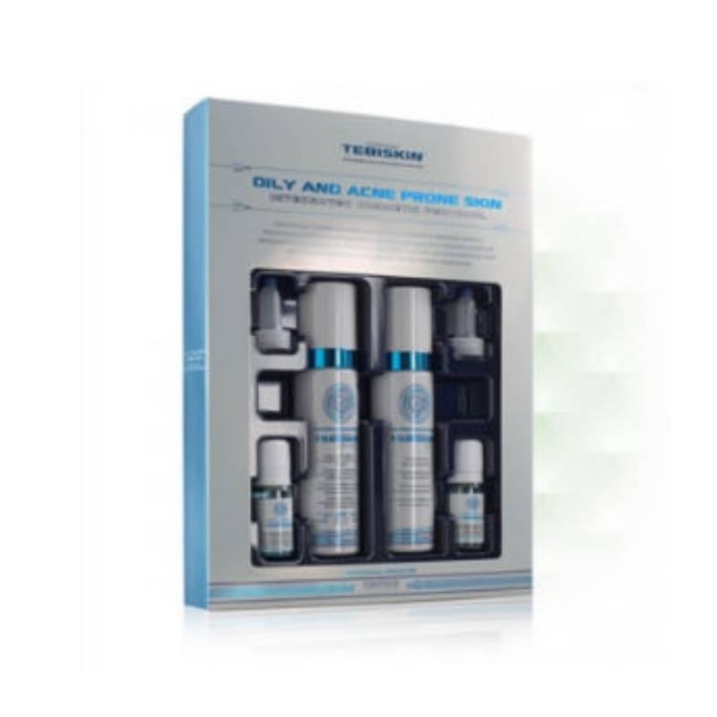 Image of Tebiskin Oily and acne prone skin kit