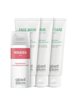 Gladskin Gladskin ROSACEA Gel Care Set Small