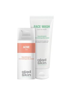Gladskin Gladskin ACNE Cleansing Set