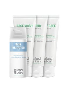Gladskin Gladskin SHAVING IRRITATION Gel Care Set Small