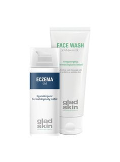 Gladskin Gladskin ECZEMA Gel Cleansing Set Small