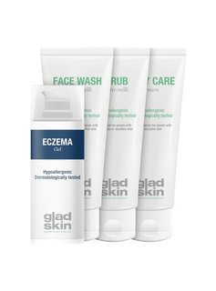 Gladskin Gladskin ECZEMA Care Set