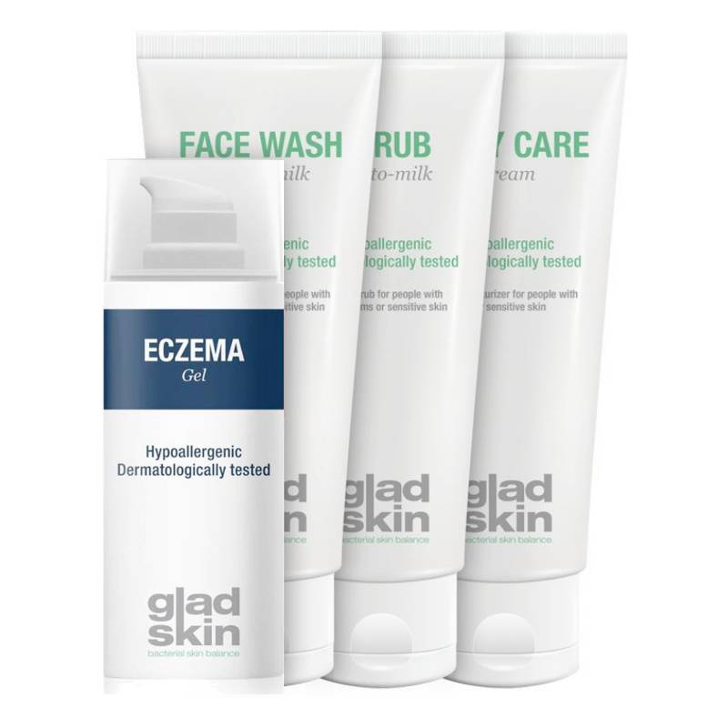 Gladskin Gladskin ECZEMA Gel Care Set Small