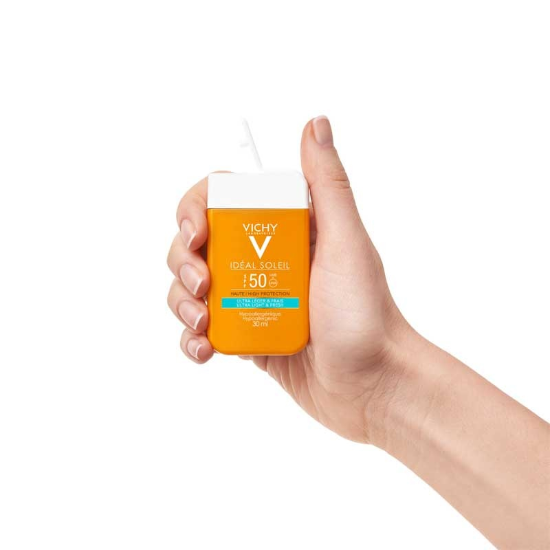 Vichy Vichy IDEAL SOLEIL Dry Touch Fluide SPF50 Pocketsize - 30ml