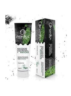 Nordics Nordics Natuurlijke Tandpasta Houtskool Fluoride Vrij - 75ml