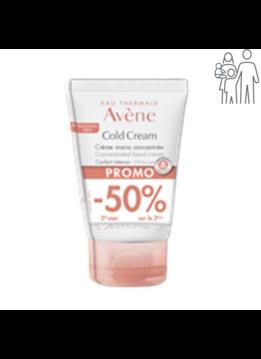 Eau Thermale Avène 2e 50% korting: Avene Cold Cream Handcrème - 50ml