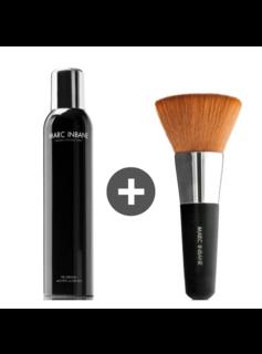 Marc Inbane Marc Inbane Combi Natural Tanning Spray + Kabuki Brush