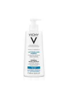 Vichy Vichy Pureté Thermale Micellaire Reinigingsmelk Droge Huid - 400ml