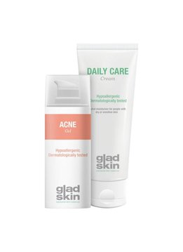 Gladskin Gladskin ACNE Gel Moisturizing Set Large