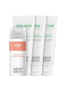 Gladskin Gladskin ACNE Gel Care Set Large