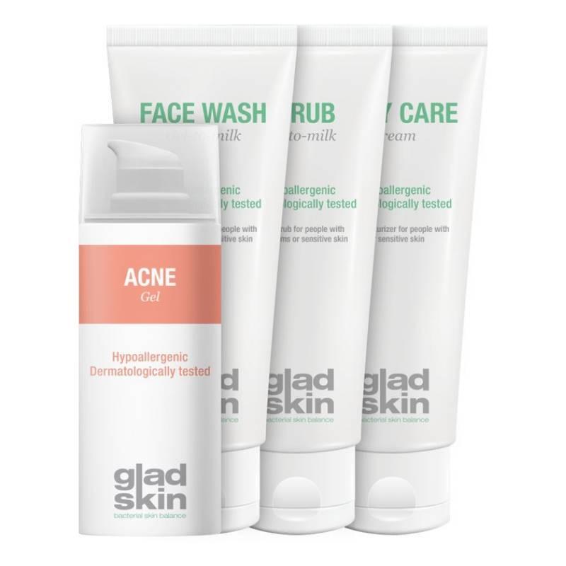 Image of Gladskin ACNE Gel Care Set Large