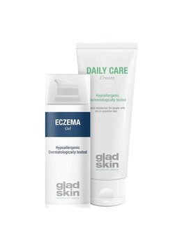 Gladskin Gladskin ECZEMA Gel Moisturizing Set Large