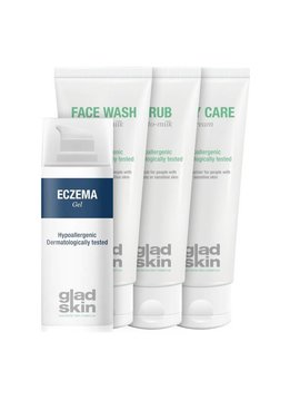 Gladskin Gladskin ECZEMA Gel Care Set Large