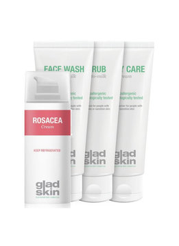 Gladskin Gladskin ROSACEA Crème Care Set Small
