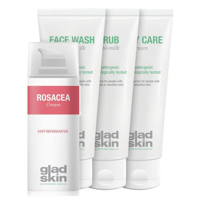 Image of Gladskin ROSACEA Crème Care Set Small
