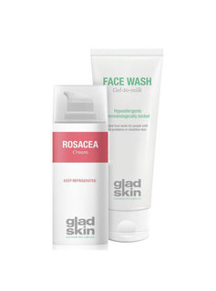 Gladskin Gladskin ROSACEA Crème Cleansing Set Small