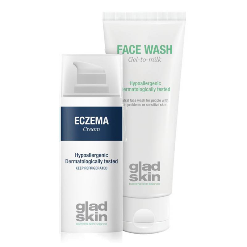 Image of Gladskin ECZEMA Crème Cleansing Set Small