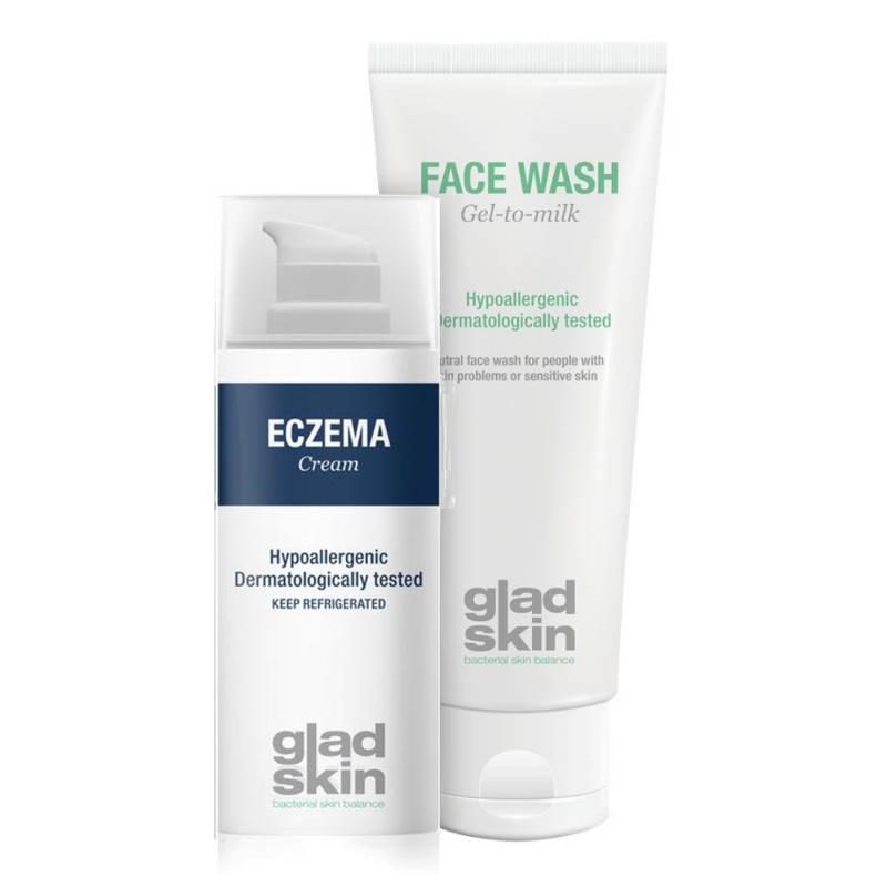 Gladskin Gladskin ECZEMA Crème Cleansing Set Small