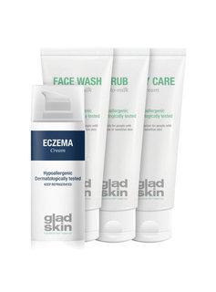 Gladskin Gladskin ECZEMA Crème Care Set Large
