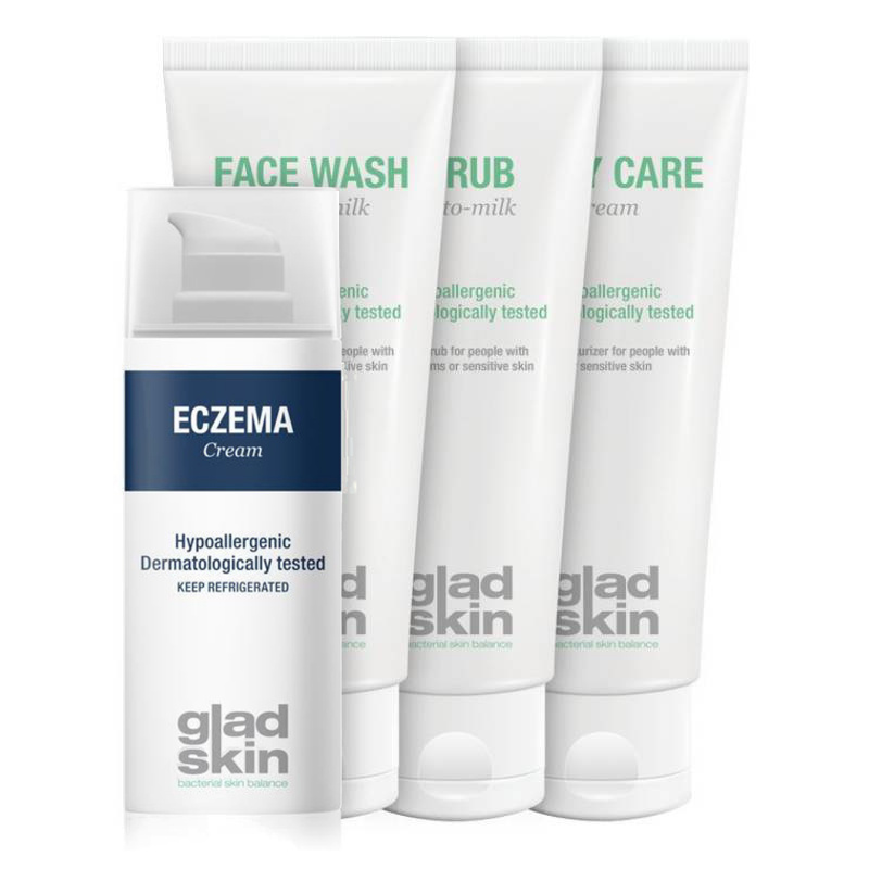 Gladskin Gladskin ECZEMA Crème Care Set Large