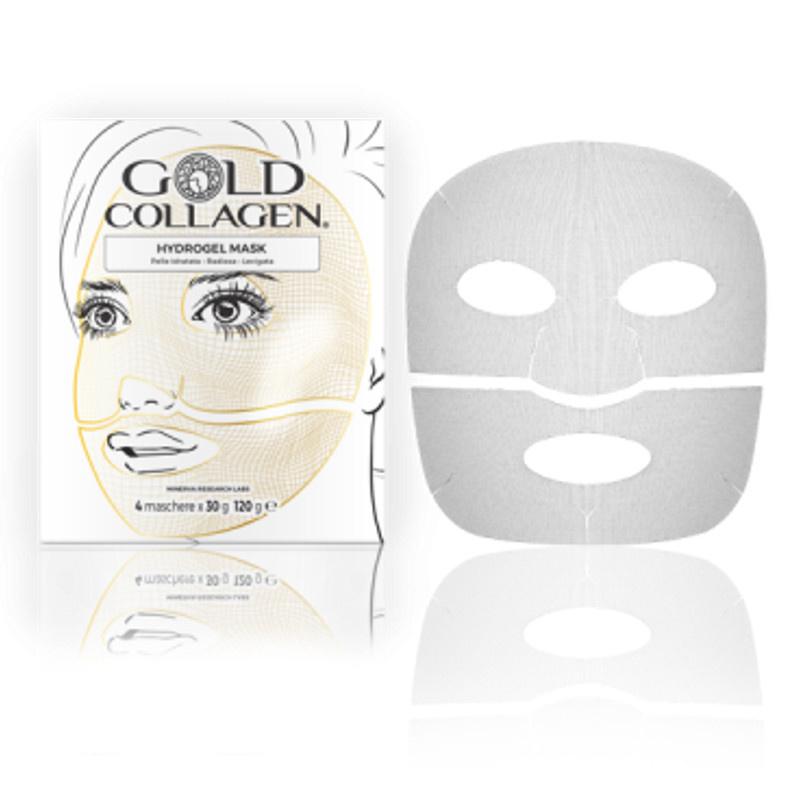 Image of Gold Collagen® Hydrogel Mask - 4st
