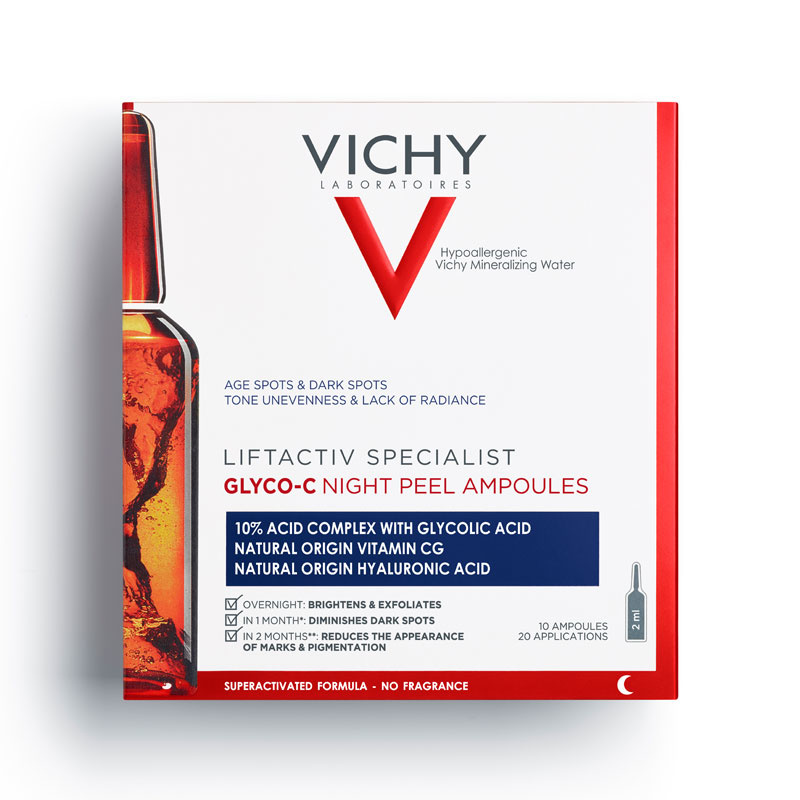 Image of Vichy Liftactiv Specialist Glyco-C Nachtpeeling Ampullen