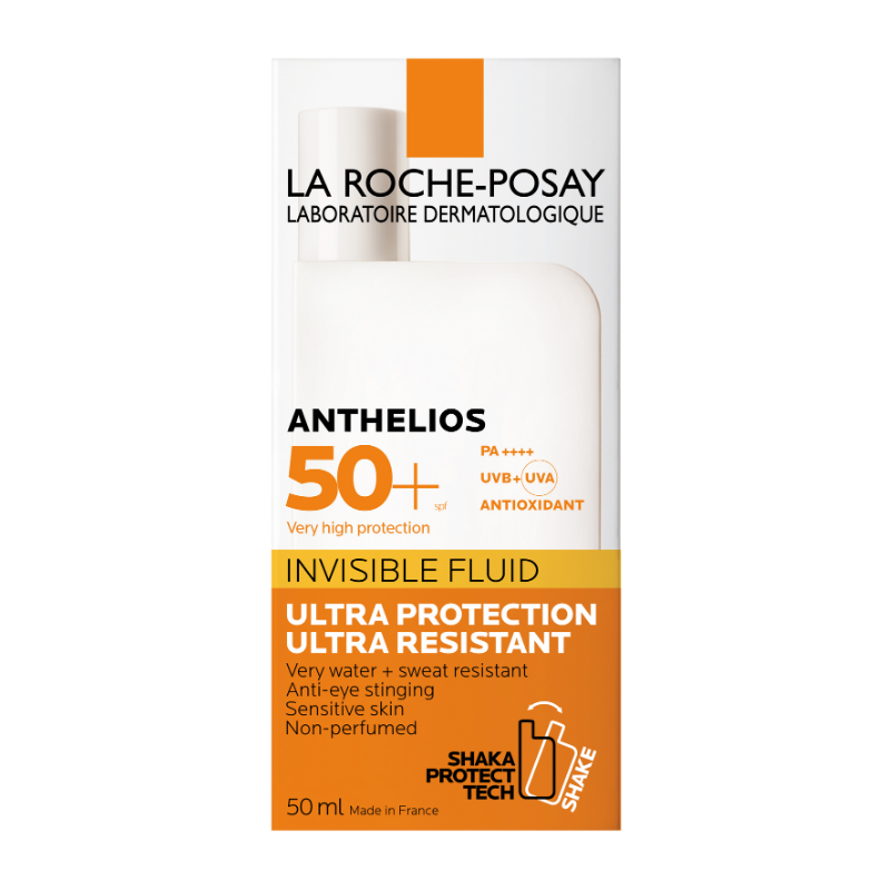 La Roche-Posay La Roche-Posay Anthelios Onzichtbare Fluide SPF50+ zonder parfum - 50ml
