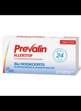 Prevalin Prevalin Allerstop Cetirizine - 10 mg - 21st.