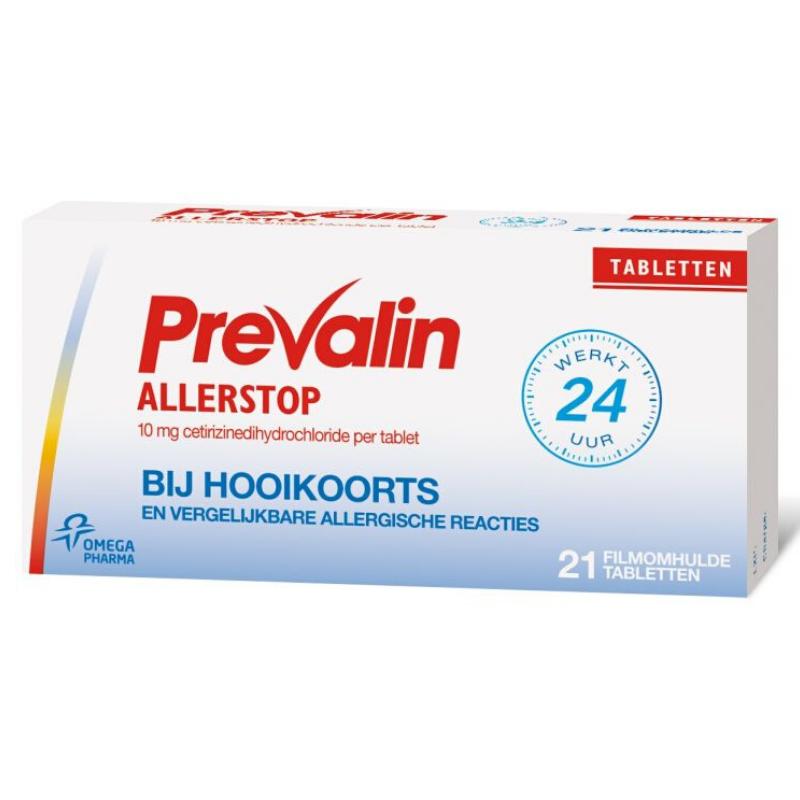 Image of Prevalin Allerstop Cetirizine - 10 mg - 21st.