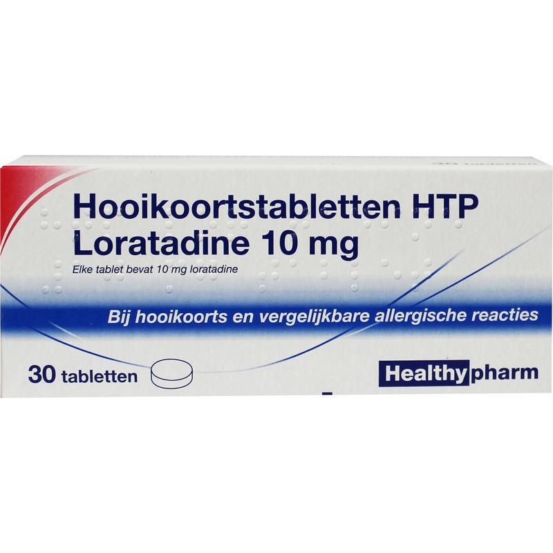 Image of Healthypharm Loratadine hooikoorts tablet 10 mg - 30 tabletten