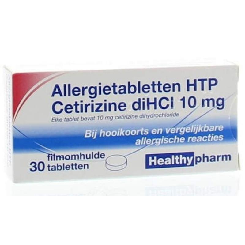 Image of Allergietabletten HTP Cetirizine diHCl - 10 mg