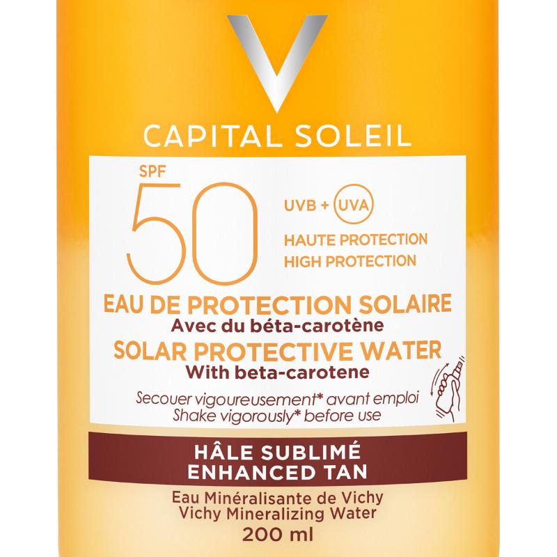 Vichy Vichy Capital Soleil Zonbeschermend water Gezonde Kleur SPF50 - 200ml