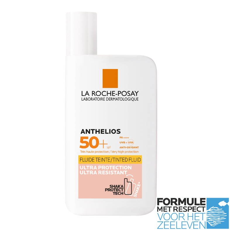 Image of La Roche-Posay Anthelios Onzichtbare Fluide Getint SPF50+ - 50ml