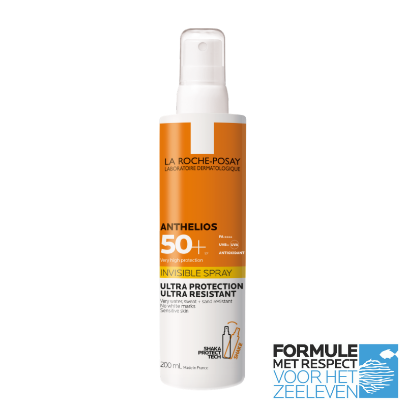 Image of La Roche-Posay Anthelios Onzichtbare Spray SPF50+ - 200ml
