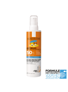 La Roche-Posay La Roche-Posay Anthelios Kind Onzichtbare Spray SPF50+ - 200ml