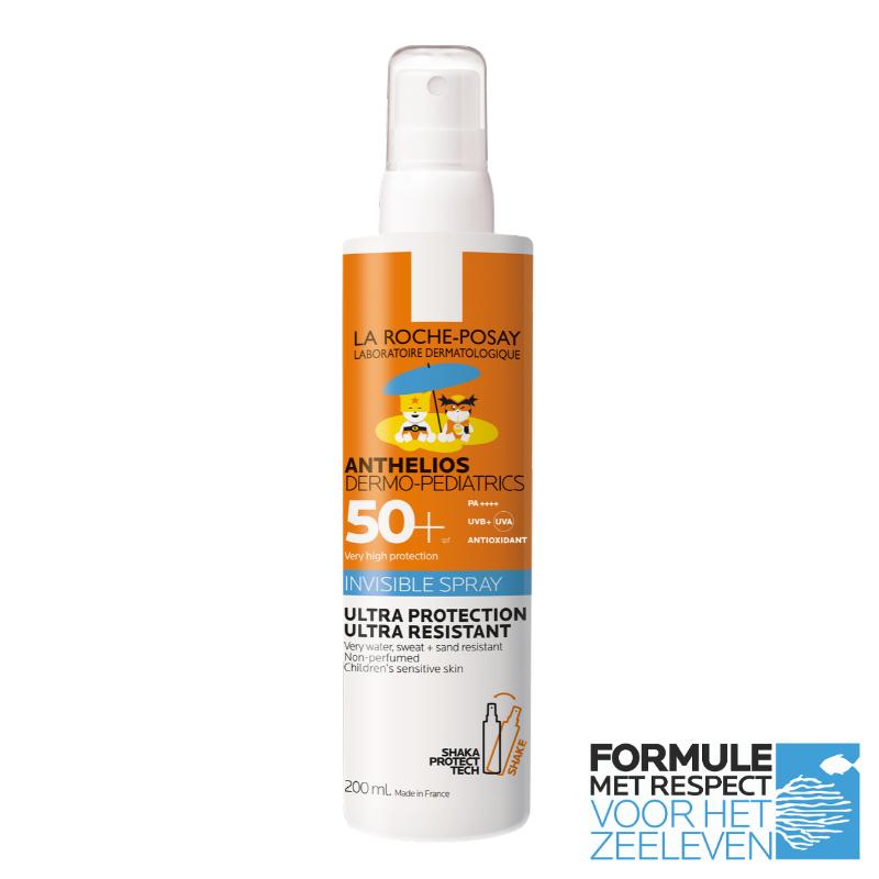 Image of La Roche-Posay Anthelios Kind Onzichtbare Spray SPF50+ - 200ml