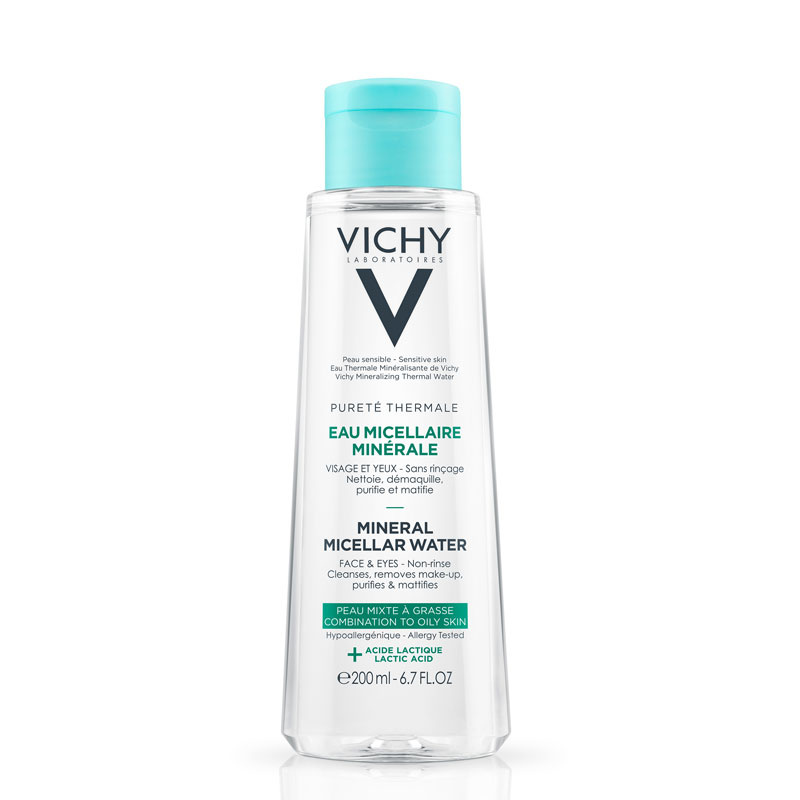 Vichy Vichy PURETÉ THERMALE Micellaire Mineraalwater Gemengde & Vette Huid - 2x200ml