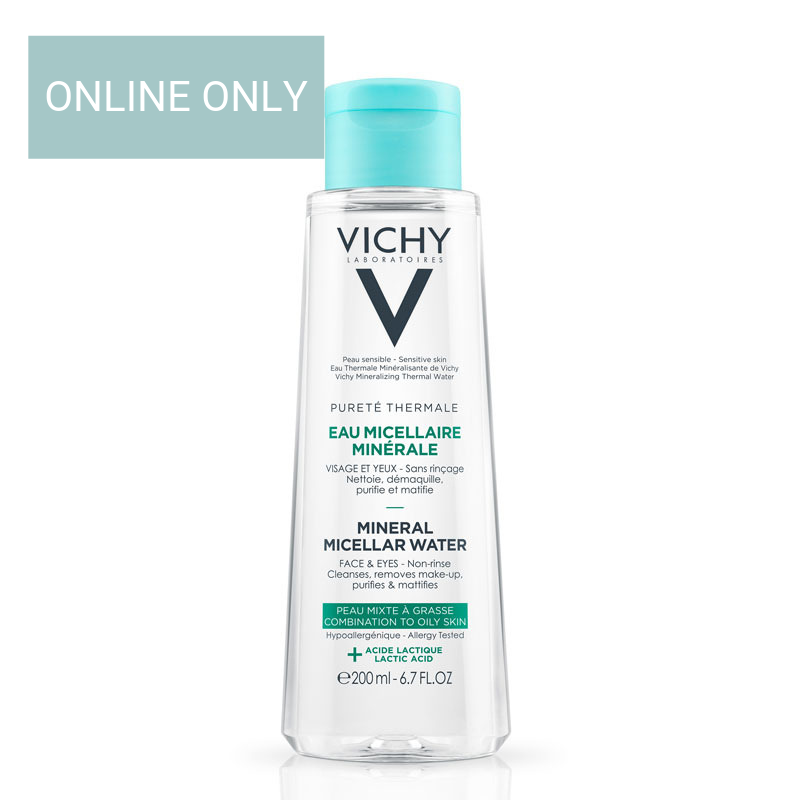 Image of Vichy Pureté Thermale Micellaire Mineraalwater Gemengde&Vette Huid - 2x200ml