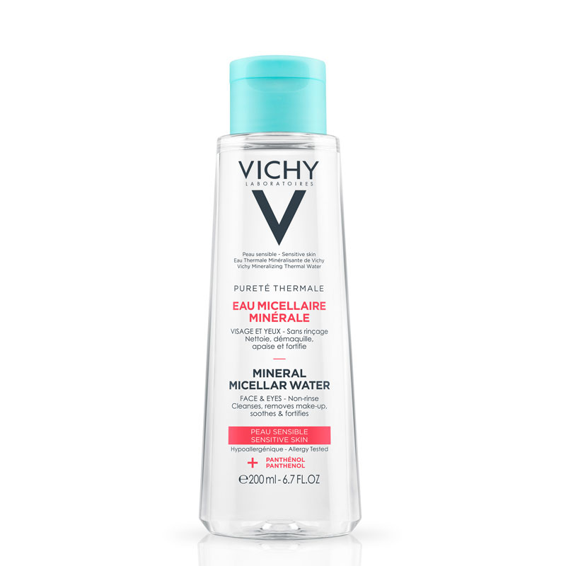 Image of Vichy Pureté Thermale Micellaire Mineraalwater Gevoelige Huid - 2x200ml